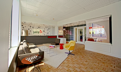 Yelp! offices designed by Studio O+A