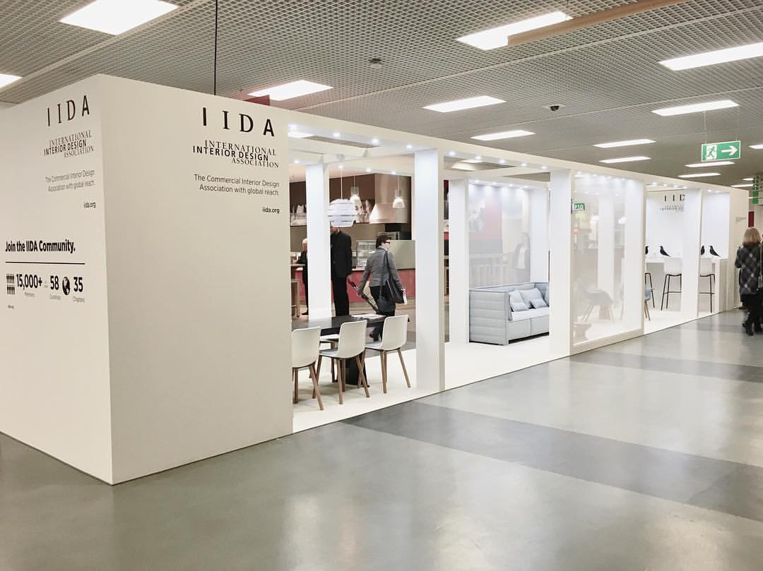 Exhibition Booth Design Award : The student perspective orgatec iida design matters