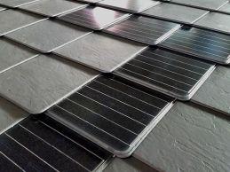 Solar tiles.
